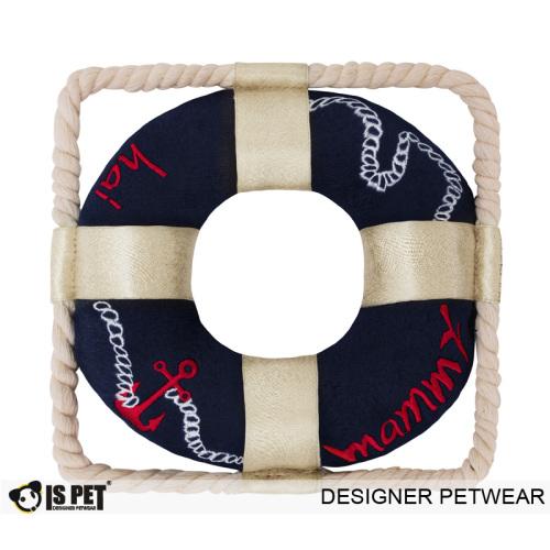 Anchor plush toy navy
