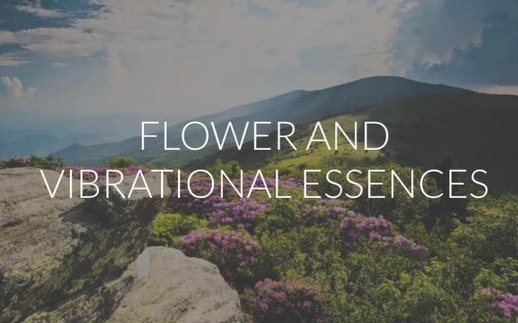 Flower and Vibrational Essences