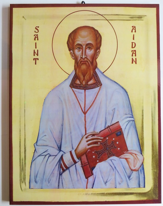 Saint Aidan of Lindisfarne (3)