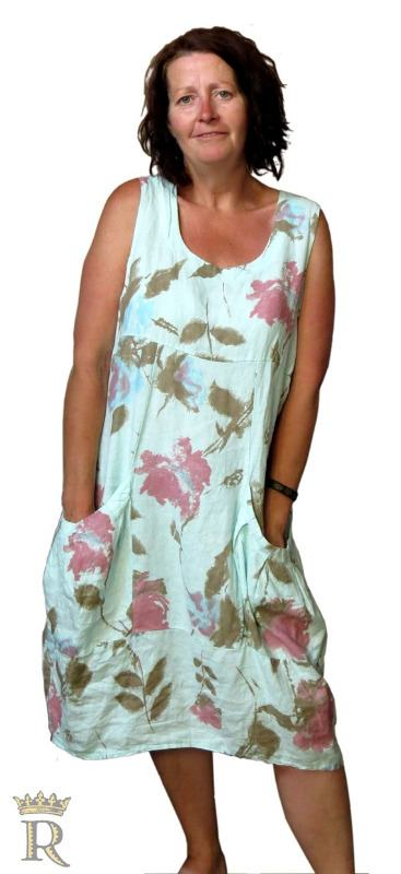 italian linen dress