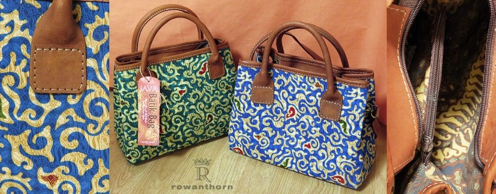 Batik and leather 34 90
