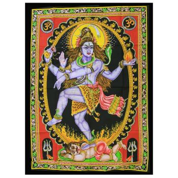 Indian Wall Art - Dancing Shiva