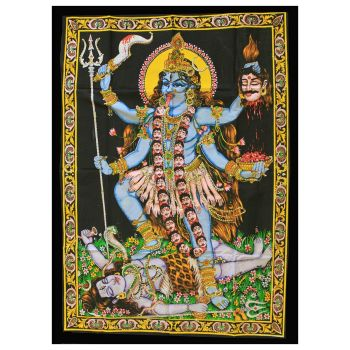 Indian Wall Art - Kali