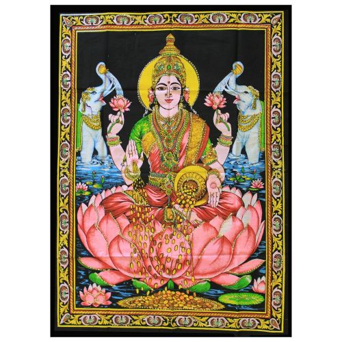 Indian Wall Art - Laxmi