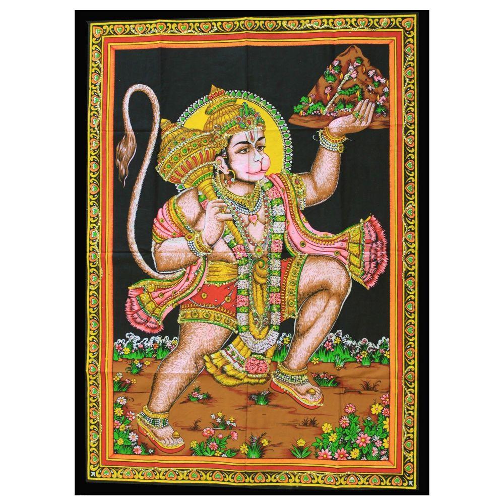 Indian Wall Art - Hanuman