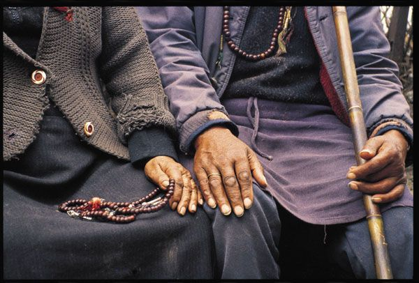Tibetan Couple