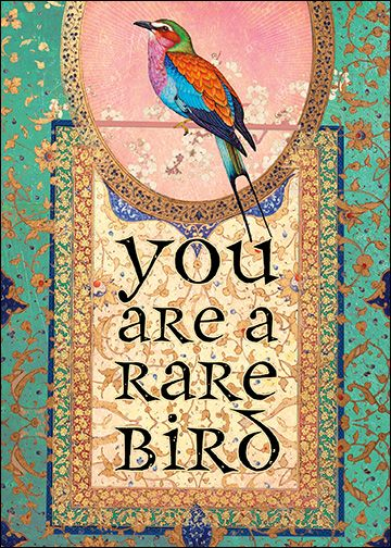 You are a Rare Bird