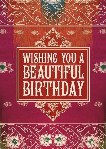 Wishing you a beautiful birthday