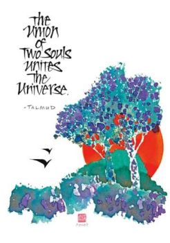 The union of two souls unites the universe