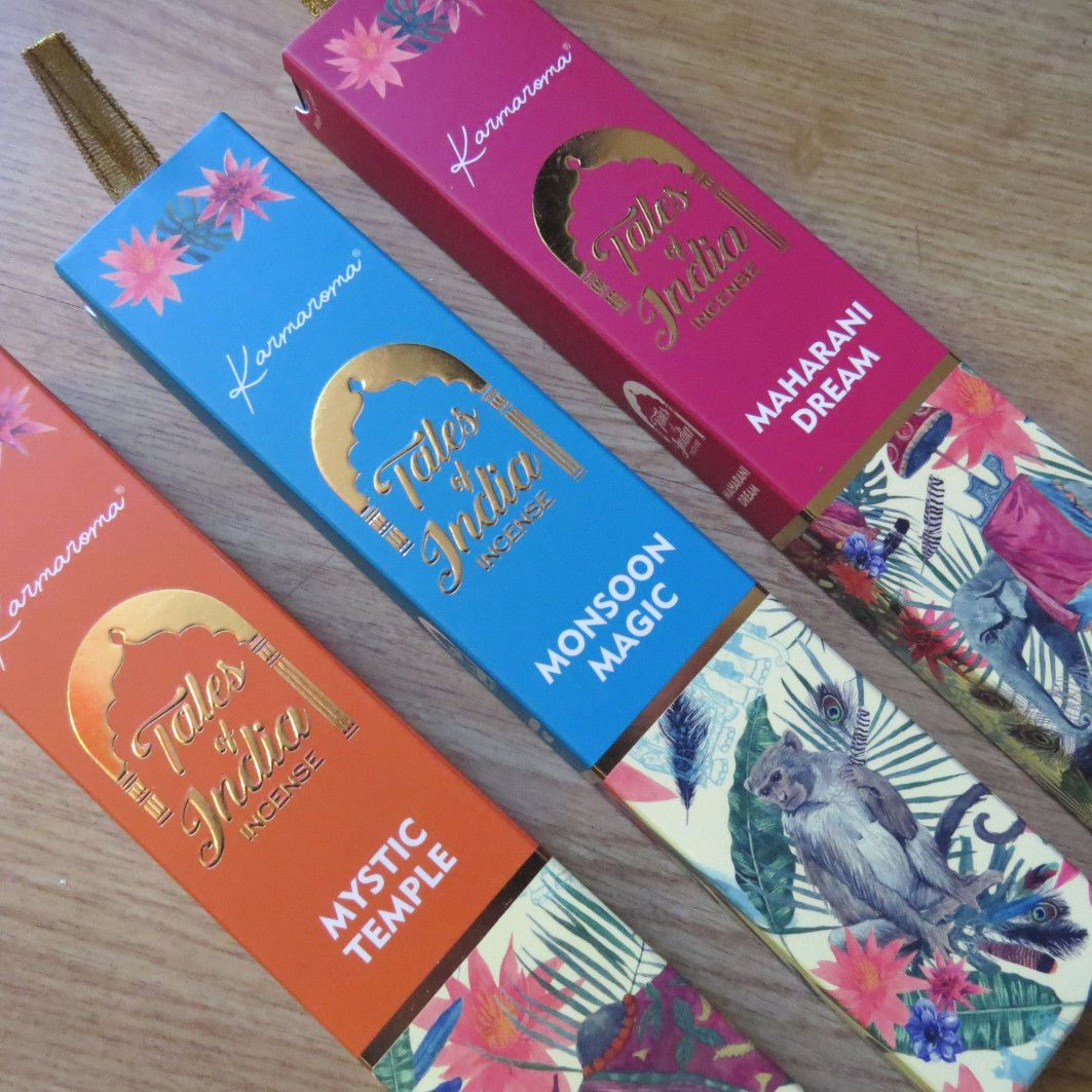 Mystic Temple - Tales of India Incense