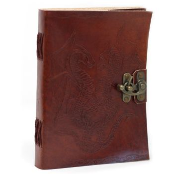"Leather Dragon Notebook (6x8"")"