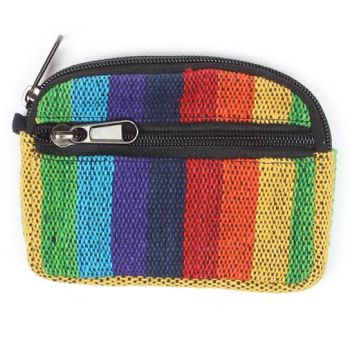 Gheri woven purse/case (rainbow)