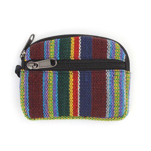 Gheri woven purse/case (rainbow)