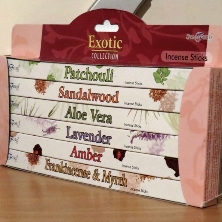 Stamford Incense Exotic Collection