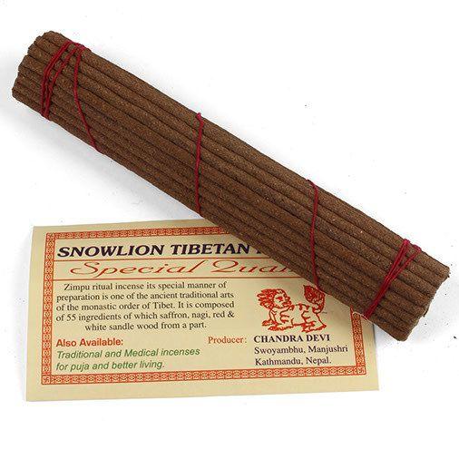 Tibetan incense - Snowlion