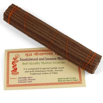 Tibetan incense - Sandlewood and Jasmine