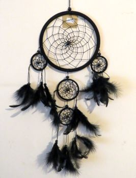 Dreamcatcher (black) 16.5cm