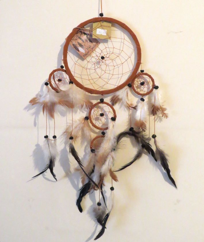 Dreamcatcher (Brown/Light) 16.5cm