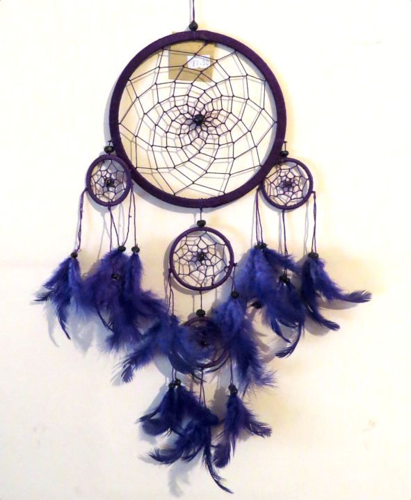 Dreamcatcher (Purple) 16.5cm