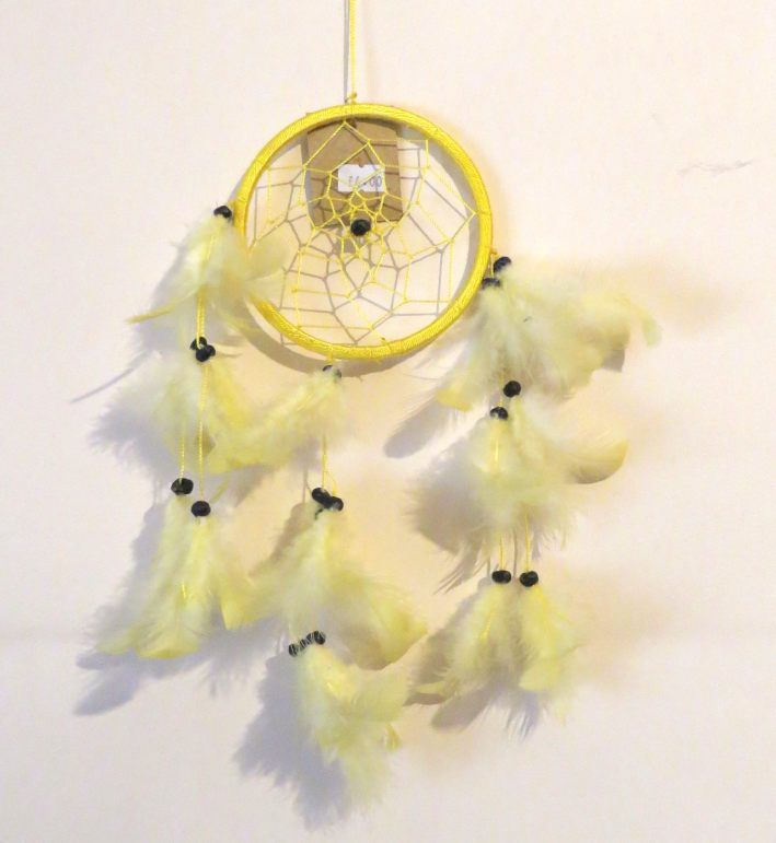Dreamcatcher (Yellow) 11.5cm