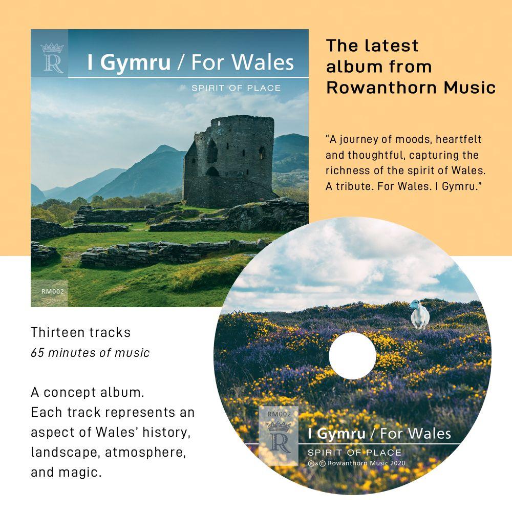 I Gymru / For Wales CD