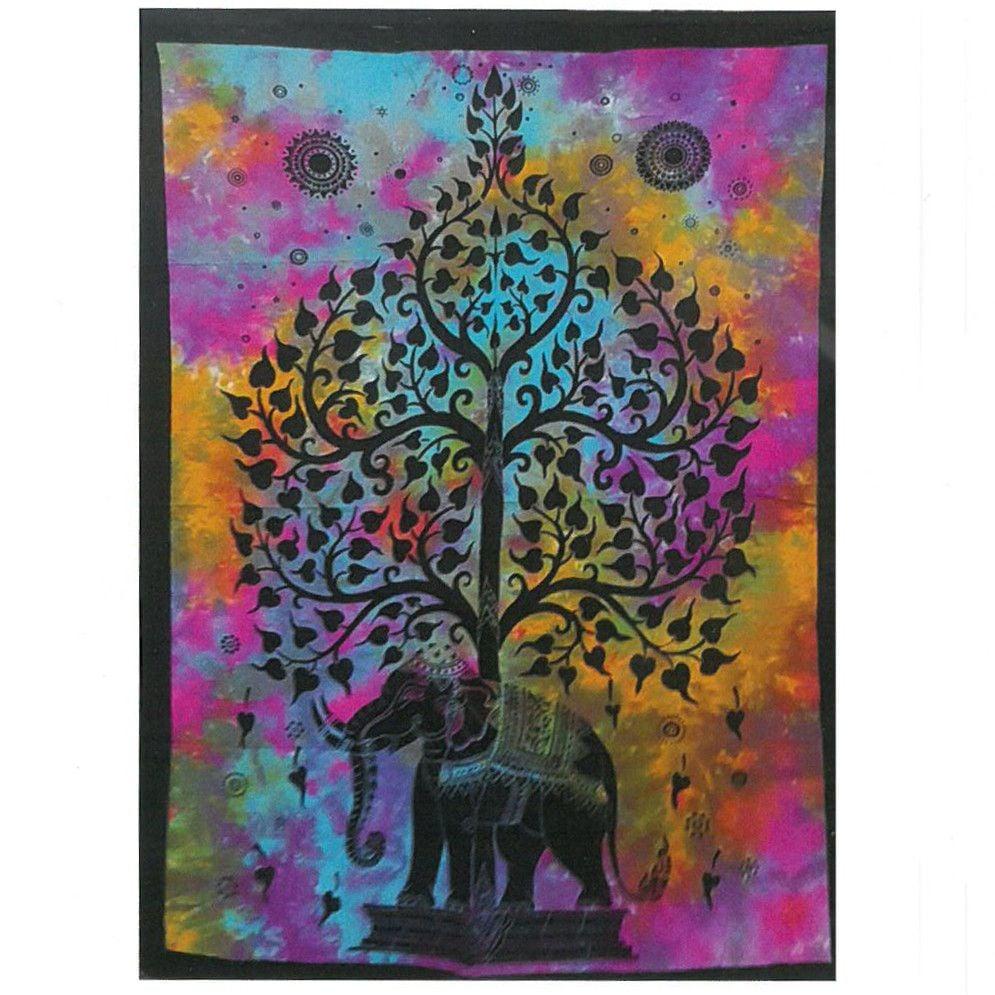Wall Hanging - Elephant Tree