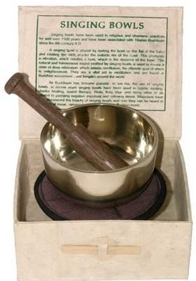 Tibetan Singing Bowl in box (90mm)