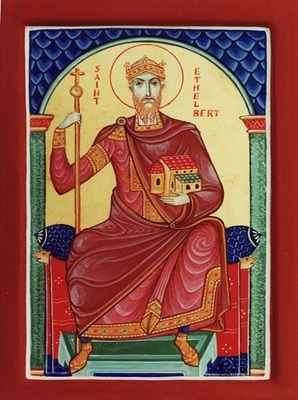 Saint Ethelbert, King of East Anglia