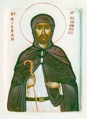 Saint Kieran (Ciaran) of Clonmacnoise