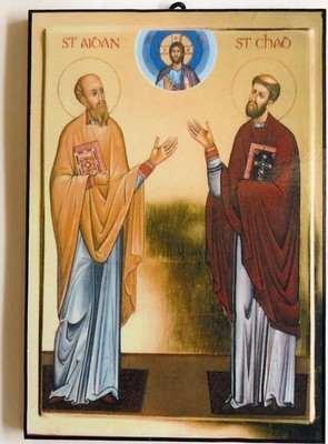 Saint Aidan and Saint Chad