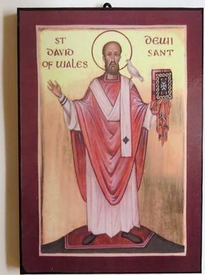 Saint David of Wales (red)