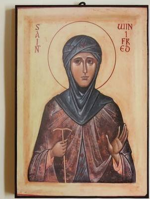 Virgin Martyr Saint Winifred of Wales