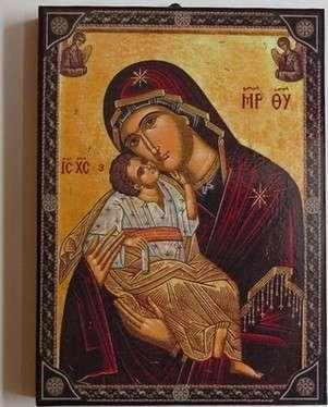 Virgin Mary Glykofilousa