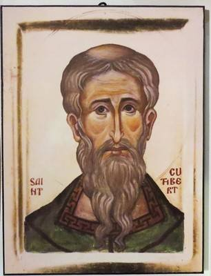 Saint Cuthbert (face)