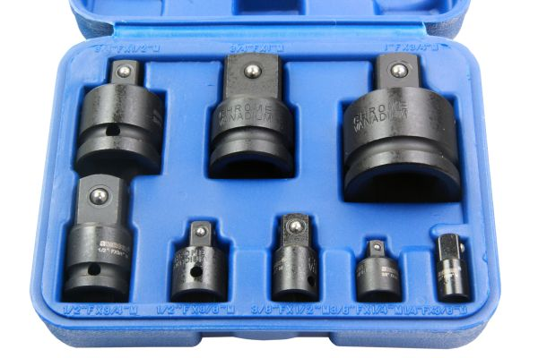 BERGEN 8PC IMPACT SOCKET ADAPTOR SET