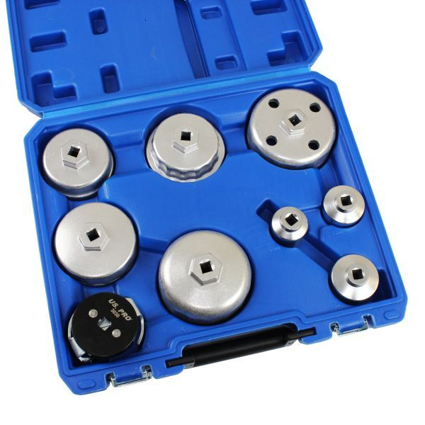 US PRO 9PC OIL FILTER WRENCH SET