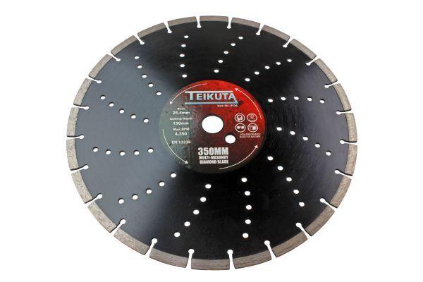 TEIKUTA 350 X 10 X 25.4MM MULTI-MASONRY DIAMOND BLADE