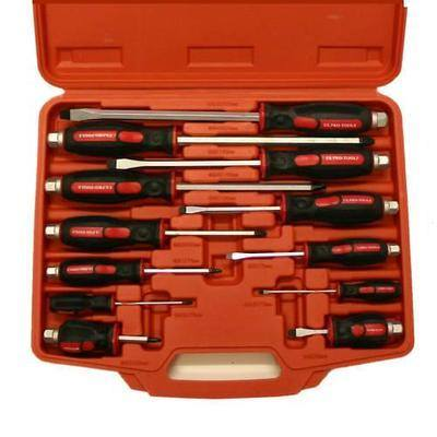 12pc US PRO TOOLS SCREWDRIVERS