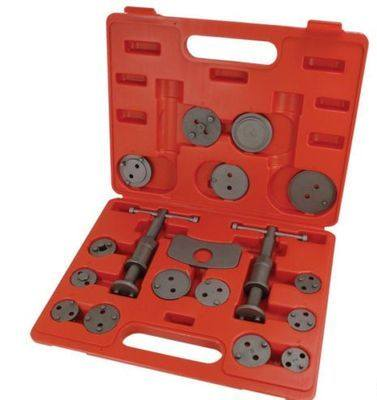 BERGEN 19 Pc Left & Right Brake Caliper Rewind Tool Kit