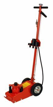 22 Ton  Air Floor Service Jack Include 4 Lifting Adapters