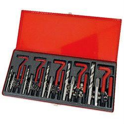 NEILSEN 131pc helicoil type thread repair kit m5 m6 m8 m10 m12