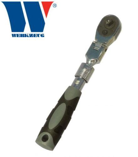 Welzh Werkzeug 1/4dr Telescopic Felix Lockable Head Ratchet