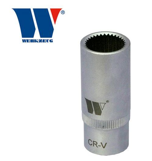 Welzh Werkzeug Mercedes Benz Diesel Fuel Injection Pump Socket 33 pt Spline