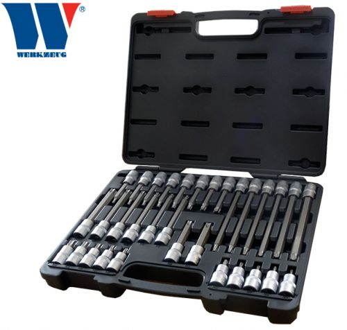 Welzh Werkzeug 32-Piece Torx Set Assortment 1/2 dr