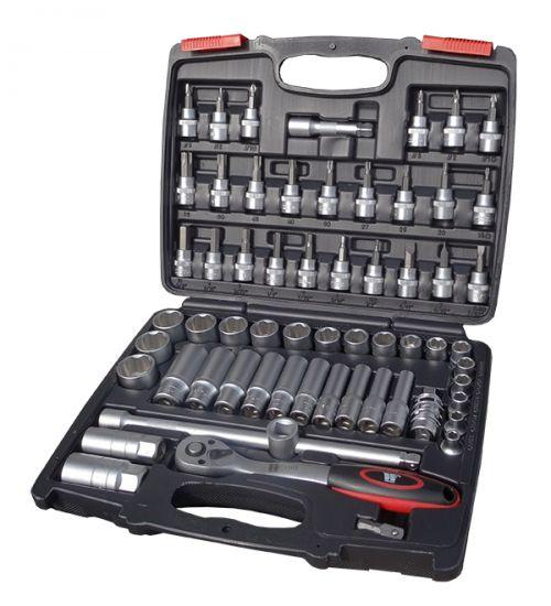 Welzh Werkzeug  61-Piece Socket Set 3/8