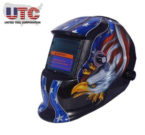 UTC Auto Darkening Welding Helmet
