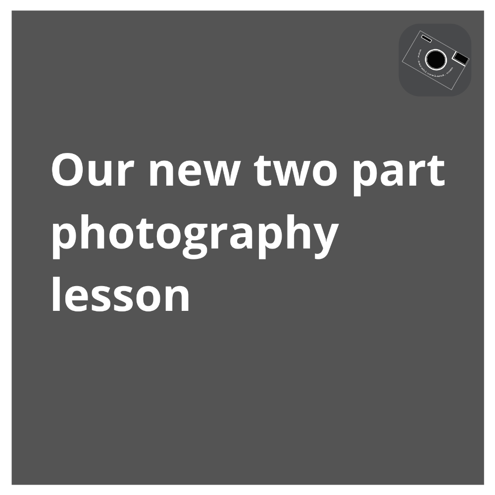 2 part photography lesson