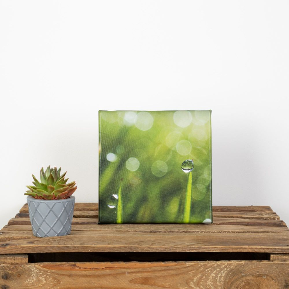 20x20cm canvas - Water droplet