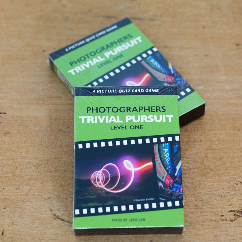 Photographers trivial pursuit card pack level one