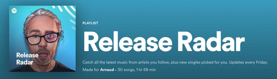 Spotify Release Radar 3rd Sep 2021